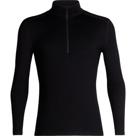 Icebreaker 260 Tech LS Half Zip Shirt Men black